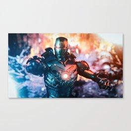 Iron Man mk3 stealth mode Canvas Print