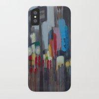 santa monica iPhone & iPod Cases featuring Santa Monica by Elizabeth Grimes