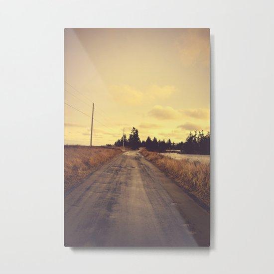 The Road Not Taken Metal Print