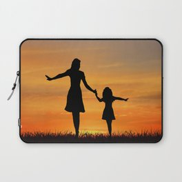 Mother's Day T-Shirt Laptop Sleeve
