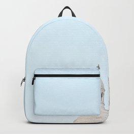 Blue Paris Backpack