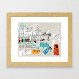 Brighton UK Framed Art Print