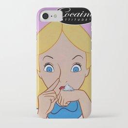 Alice in Wonderland Cocaine Attitude iPhone Case