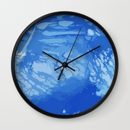bluewaters Wall Clock