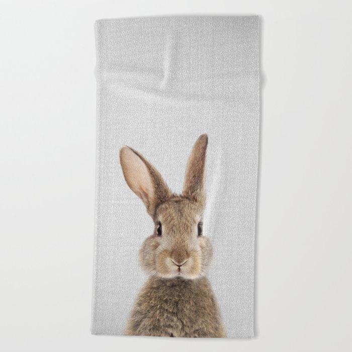 Rabbit - Colorful Beach Towel