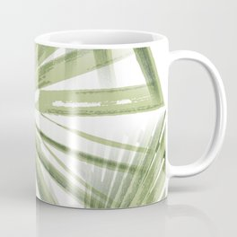 Tropical Beach Palm Vector Coffee Mug