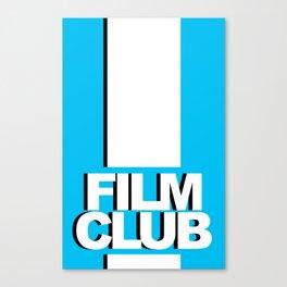 Film Club Canvas Print
