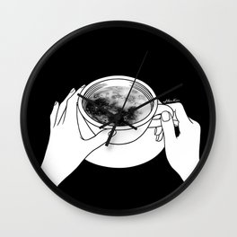 Morning please don't come Wall Clock