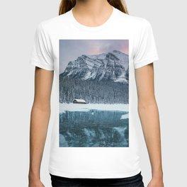 Sunset at Lake Louise T-shirt