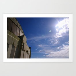 Observing the Sky Art Print