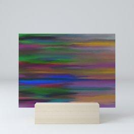 Lucid mixed colors Mini Art Print