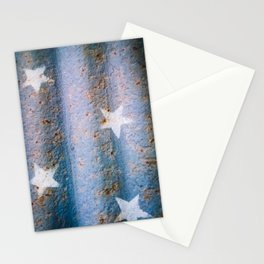 Rust,White & Blue Stationery Cards
