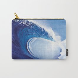 Ocean Wave Painting Carry-All Pouch