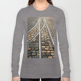 Rails and Cobbles Long Sleeve T-shirt