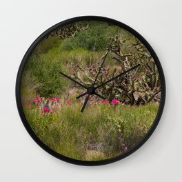 Painted Desert - VI Wall Clock