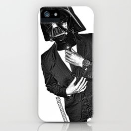 Darth Banker iPhone Case