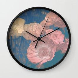 Capricious Tulips IV Wall Clock