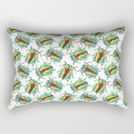 One beetle knows another Rectangular Pillow