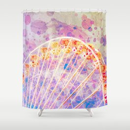 Ticket To Ride Shower Curtain