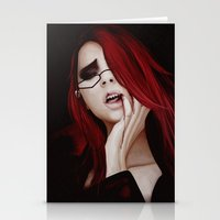 kuroshitsuji Stationery Cards featuring Lady Death by hinterdemlicht