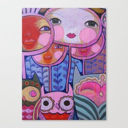 Colorful Us  Canvas Print