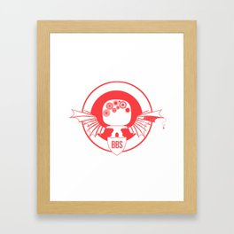 BBS v. SSR (Capt America version) Framed Art Print