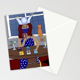 Suburban Swamp Sorceress Stationery Cards