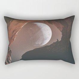 Polite Stranger Rectangular Pillow