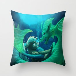 Siren's Song Throw Pillow