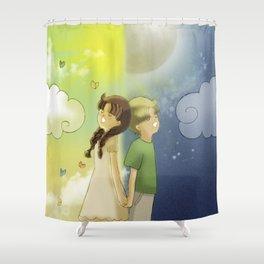 Day & Night Shower Curtain