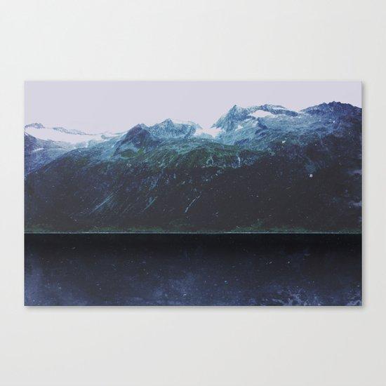 The Deep Lake Canvas Print
