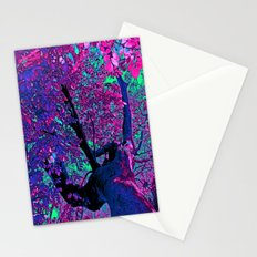 Climbing to the Stars Stationery Cards
