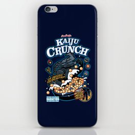 Kaiju Crunch iPhone Skin