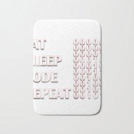 Computer Programmer Bath Mat