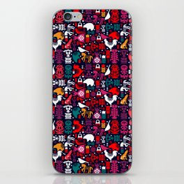 Colorful Folklore iPhone Skin