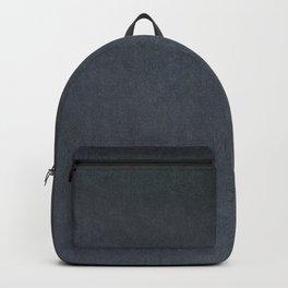 Slate Blue Velvet Texture Backpack