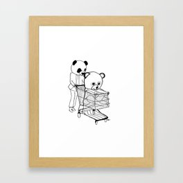 I bet that you look good on the dance floor… Framed Art Print