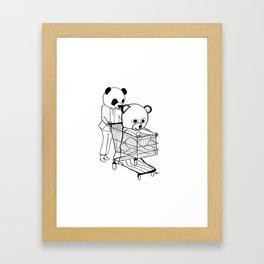 I bet that you look good on the dance floor… Framed Art Print