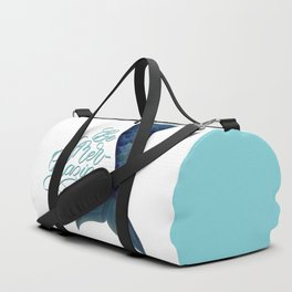 Be Mer-Mazing Mermaid Tail Duffle Bag