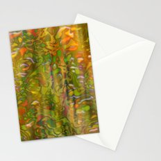 Autumn digital background Stationery Cards