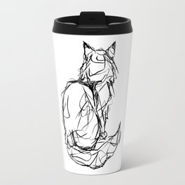 Kitty Gesture Travel Mug
