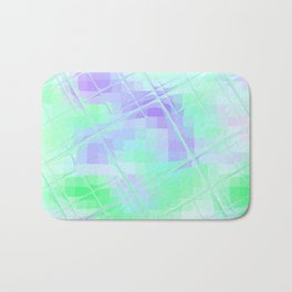 Re-Created Twisted SQ XXIV by Robert S. Lee Bath Mat