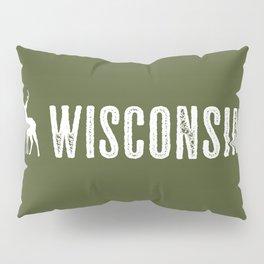 Deer: Wisconsin Pillow Sham