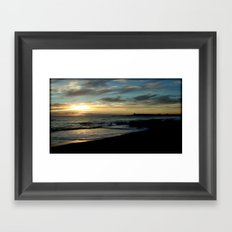 Sunrise over Bass Strait ~ Tasmania Framed Art Print