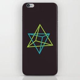I: Tetraedro iPhone Skin