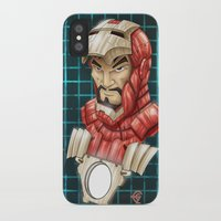 ironman iPhone & iPod Cases featuring Ironman by Fernando Cano Zapata