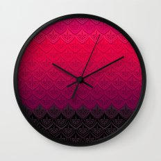 ELENA PATTERN - FLAMENCO VERSION Wall Clock
