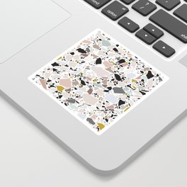 Terrazzo Pattern II. Sticker