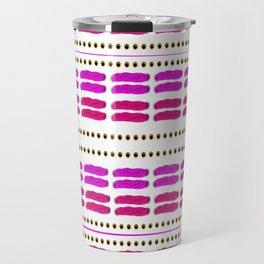 Stitch for stitch in pink Travel Mug