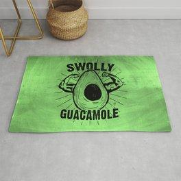Swolly Guacamole Rug
